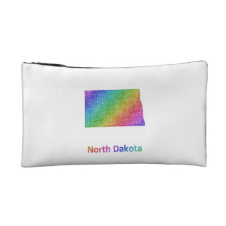 North Dakota Makeup Bag