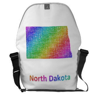North Dakota Messenger Bag