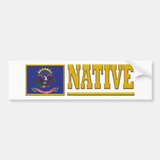North Dakota Native Bumper Sticker