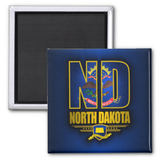 North Dakota (ND) Magnet