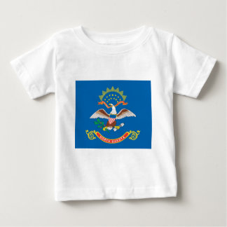 North Dakota  Official State Flag Baby T-Shirt