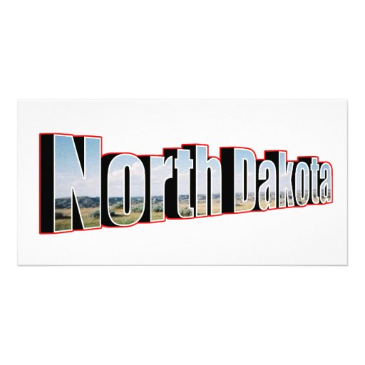 north dakota picture card