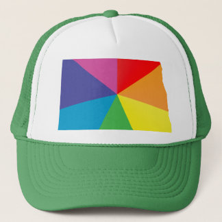 north dakota pride. trucker hat