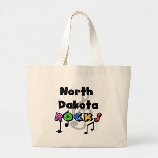 North Dakota Rocks Large Tote Bag