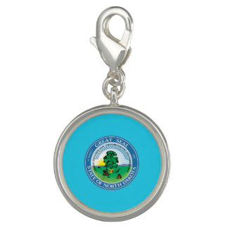 North Dakota seal, American state seal Charms