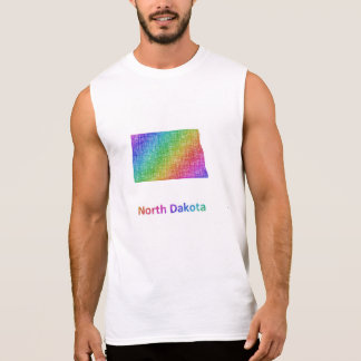 North Dakota Sleeveless Shirt