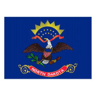 North Dakota State Flag Business Cards