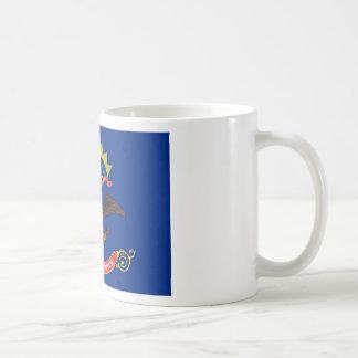 North Dakota State Flag Classic White Coffee Mug