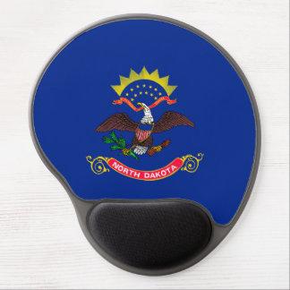 North Dakota State Flag Design Gel Mouse Pad