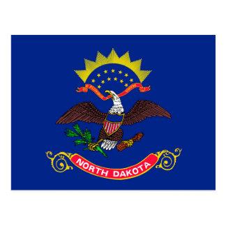North Dakota State Flag Design Postcard