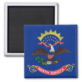 North Dakota State Flag Refrigerator Magnet