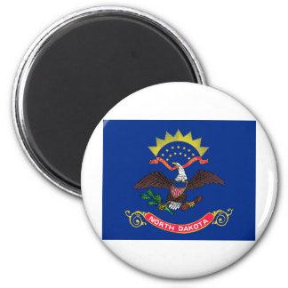 North Dakota State Flag Magnet