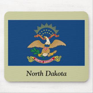 North Dakota State Flag Mouse Pad