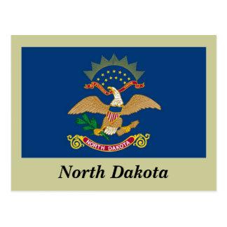 North Dakota State Flag Postcard