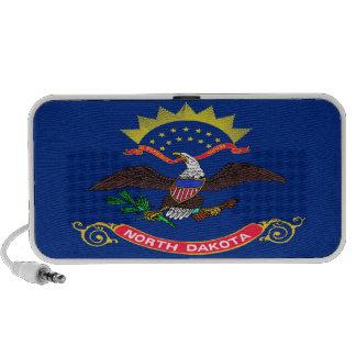 North Dakota State Flag Portable Speaker