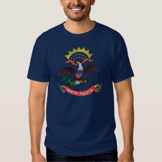 North Dakota State Flag T-shirts