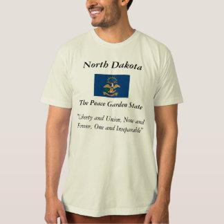 North Dakota State Flag T Shirts
