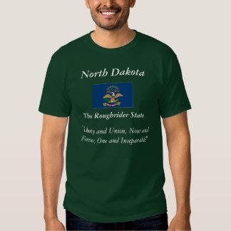 North Dakota State Flag Tee Shirt