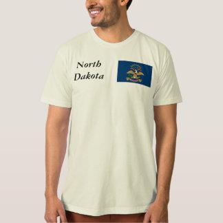 North Dakota State Flag Tshirts