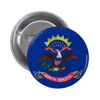 north dakota state flag united america republic sy 2 inch round button