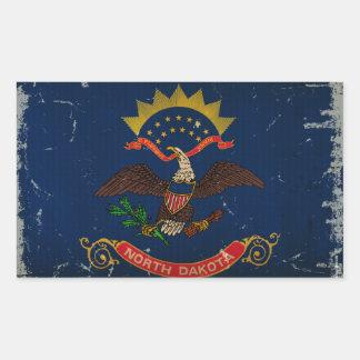 North Dakota State Flag VINTAGE.