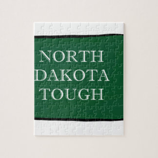 North Dakota Tough Jigsaw Puzzle