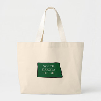 North Dakota Tough Large Tote Bag