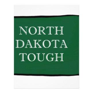 North Dakota Tough Letterhead