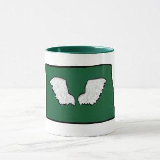 North Dakota Tough Wings Mug