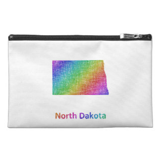North Dakota Travel Accessory Bag