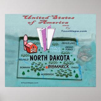 North Dakota USA Poster