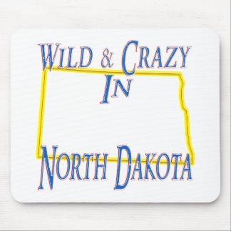 North Dakota - Wild and Crazy Mouse Pad