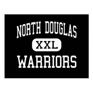 North Douglas - Warriors - High - Drain Oregon Postcard