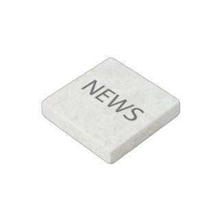 North East West South ai Stone Magnet