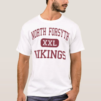 North Forsyth - Vikings - High - Winston Salem T-Shirt
