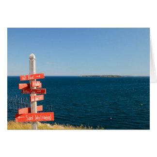 North Head, Grand Manan, NB Card