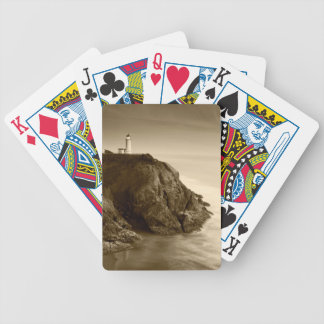 North Head Lighthouse | Fort Canby State Park, WA Bicycle Playing Cards