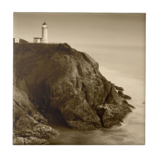 North Head Lighthouse | Fort Canby State Park, WA Tile