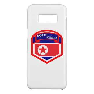 North Korea Flag Coat of Arms Case-Mate Samsung Galaxy S8 Case