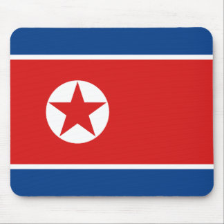 North Korea Flag Mousepad