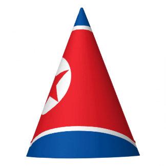 North Korea Flag Party Hat