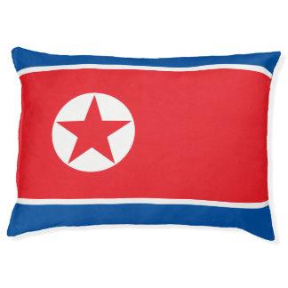 North Korea Flag Pet Bed