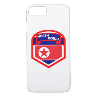 North Korea Flag Shield Case-Mate iPhone Case