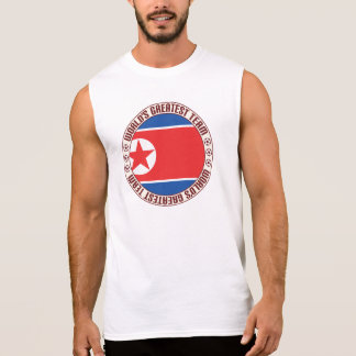 North Korea Greatest Team Sleeveless Shirt