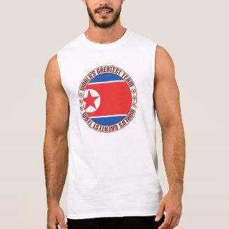 North Korea Greatest Team Sleeveless Shirt