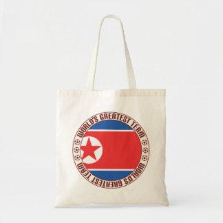 North Korea Greatest Team Tote Bag