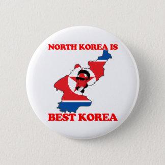 North Korea is Best Korea 2 Inch Round Button