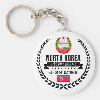 North Korea Keychain
