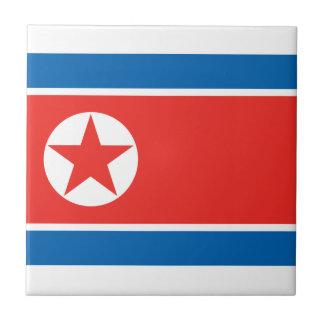 North Korea Tile