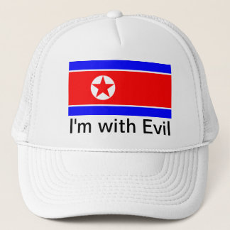 North Korea Trucker Hat